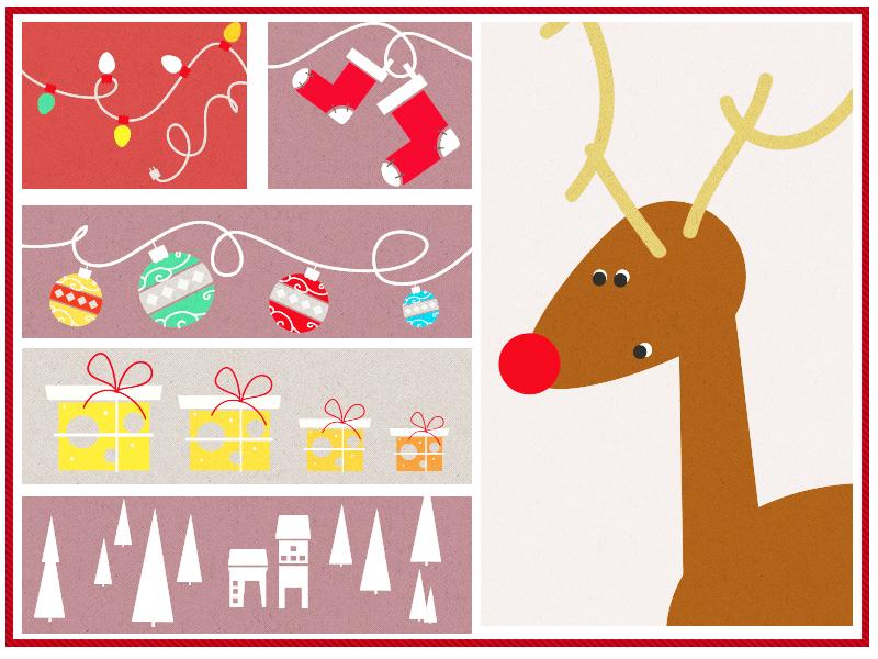 Christmas stuff christmas reindeer boots socks gift tree house lights retro boxes decoration xmas rudolf