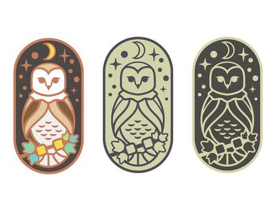 Barn Owl Enamel Pin Exploration