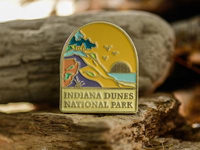 Indiana Dunes National Park Enamel Pin