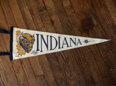 Indiana Pennant