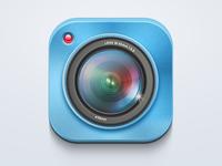 Camera App – iOS Icon