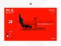 🏎 Next generation SimRacing 🏁 berlin design taikonauten racing 3d animation website webgl 3d configurator ui ux