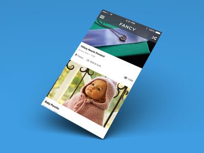 Fancy - iOS7 Redesign