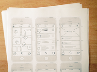 illy Locator - Wireframe