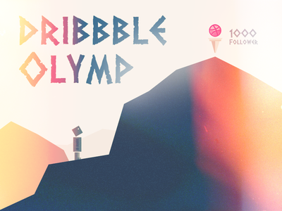 Dribbble Olymp – Here I'm coming