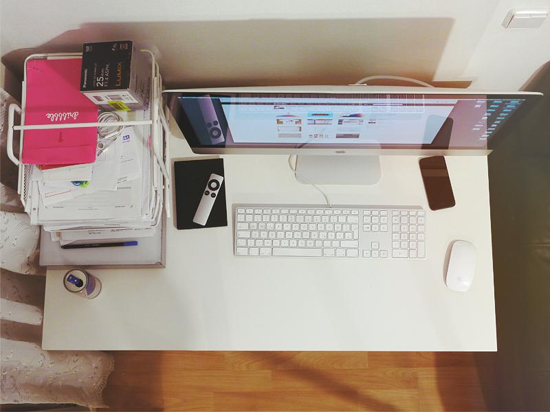 Little Kingdom desk home imac office work workspace workstation