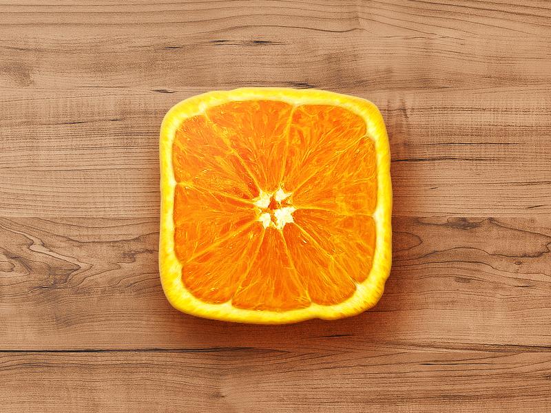 Orange Icon – Free PSD icon food orange ios freebie psd