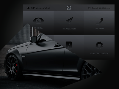 User Interface – Mercedes Benz