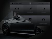 User Interface – Mercedes Benz
