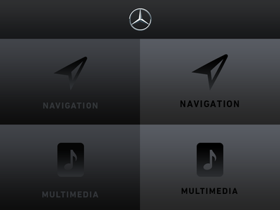 User Interface – Mercedes Benz V2