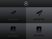 User Interface – Mercedes Benz V2
