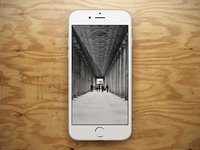 Free Showcase PSD – iPhone 6