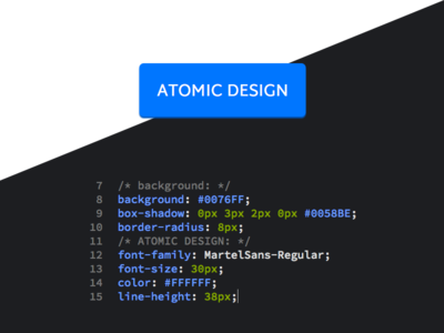 Atomic Design – Button