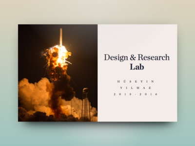 Design & Research Lab