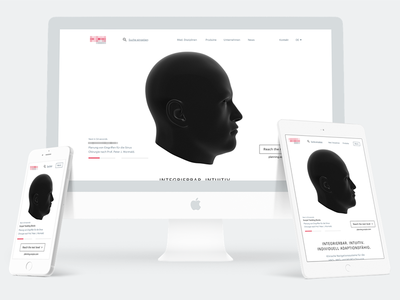 Website Relaunch  - Medical 👨🏻‍⚕️🔬📋 webgl animation 3d ux ui medical design website
