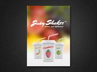 Juicy Shakes Loyalty Card – Flyer