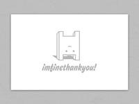 Logodesign – imfinethankyou