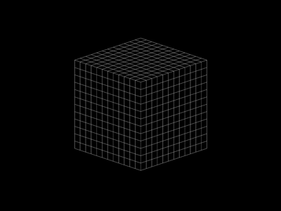 Morph. endless morph webgl 3d animation 3d