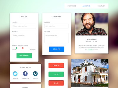 UI Kit – For handcrafter and freelancer