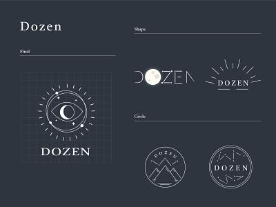 Dozen Logo Design branding design logo grapic design