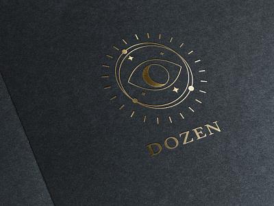 Dozen branding design mockup