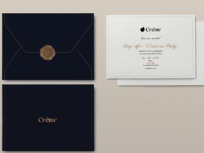 Club Invitation branding design invitation card invitation