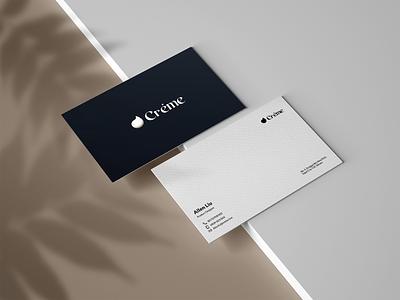 Business card card branding design
