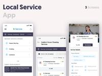 Local service app dribbble