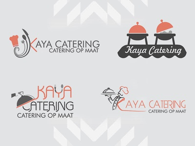 Kaya Catering Logos! logo desiging web design graphic design ux ui kaya catering auxesis infotech client acquisation it consultant business consultant business analyst business developer