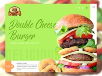 Burger Brand Website
