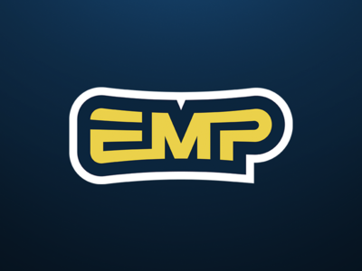 EMP Esports esports logo sports logo monogram logomark mascot logo p m e emp emp esports logotype esports