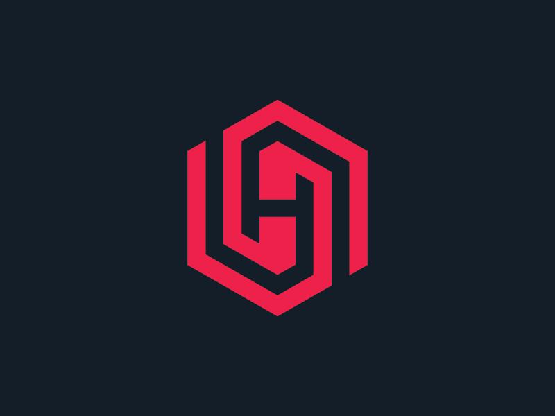 Hexagon h logo 2 dribbble