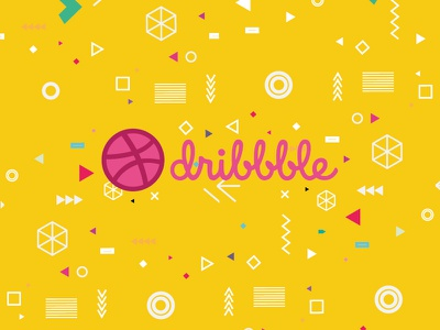 Hello Dribble graphics design thank you first shot design invitation hello debut