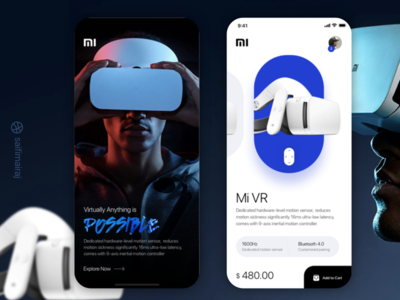 VR App Design Concept