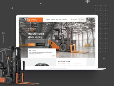 ForkLift B2B Landing Page