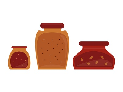 Jars computer art digital art illustrator illustration graphic design jars