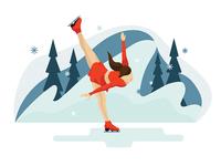 Figure Ice Skater