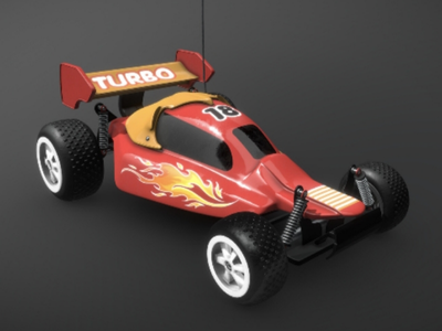 Toy Race Car - complete car toy cgi cg substance painter maya 3dmodel 3d