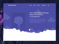 """Website for """"MakeAStickerPack"""""""