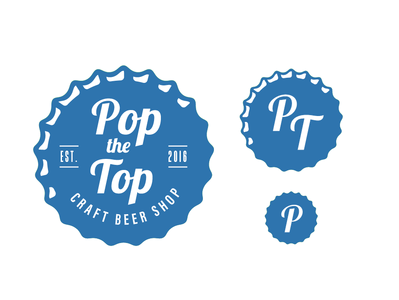 Pop The Top Social Media Logos