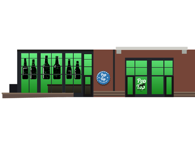 Pop the Top Storefront Concept