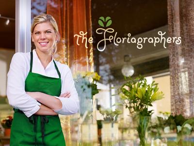 Floriagraphers Logo Window