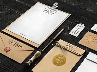 John Miller Law - Branding Concepts