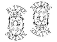 Blithe Bitters label (in progress)