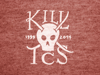 KILL TCS shirt kill skull