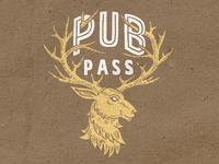 Deer illustration for PubPass