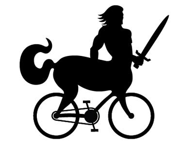 Daddy Cyclotaur cyclotaur centaur bike bicycle mythical creature