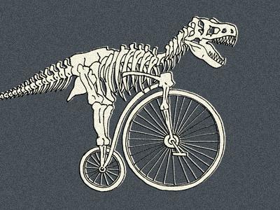 Cyclosaur: T-Rex Penny Farthing