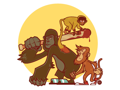 Dance monkeys, dance!!