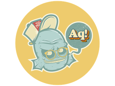 Aq! monster creature character design illustrator characterdesign adobeillustrator vector illustration